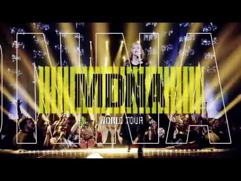 Madonna - MDNA World Tour (official DVD Trailer)