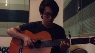 HONNE Feat. Georgia - Location Unknown (Fingerstyle Guitar Cover)