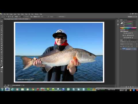 How to create a photo frame in photoshop cs6