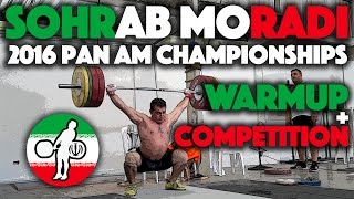 Sohrab Moradi - Training / Competition Day at 2016 Pan Ams