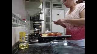 Лёгкий рецепт гарнира /или закуски/ из овощей!