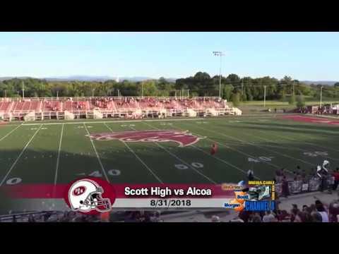 Football - 08/31/2018 Scott High vs. Alcoa