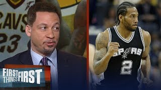 Chris Broussard on reports Lakers will reopen Kawhi trade talks   NBA   FIRST THINGS FIRST