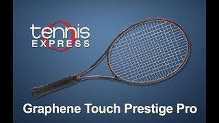 HEAD Graphene Touch Prestige Pro Tennis Racquet Review | Tennis Express