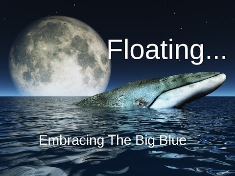 Floating: Deep Relaxing Ocean Whale Music with Spoken word - The Big Blue