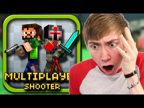 PIXEL GUN 3D (iPhone Gameplay Video)