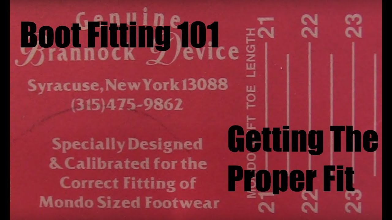 35306efd5cb Boot Fitting 101: Sizing Your Snowboard Boots