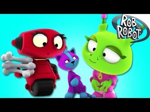 THE SPACE PETS | Rob The Robot Cartoon Show | Space Adventures Cartoons For Children