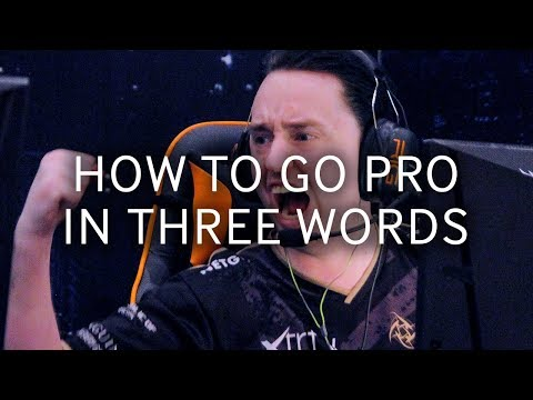 CS:GO Pros Answer: How To Go Pro In CSGO Using Three Words