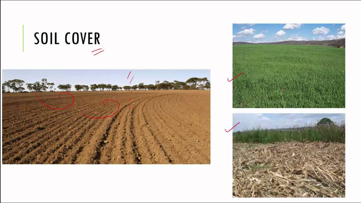 the importance of soil quality and conservation Soil conservation is a combination of all methods of management and land use that safeguard the soil against depletion or deterioration by natural or human-induced factors.