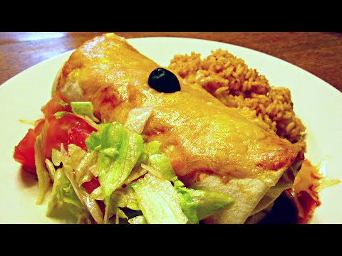 Bean and Cheese Mexican Burrito