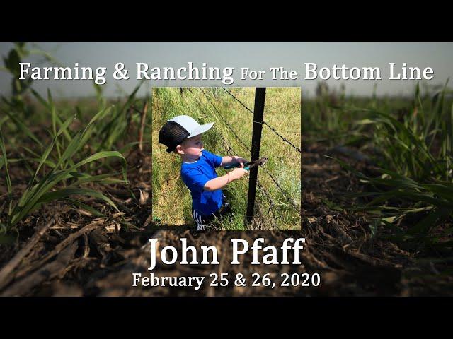 John Pfaff BSC Feb 2020