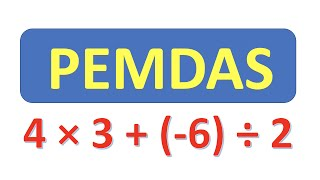 PEMDAS  Order of Operations 1