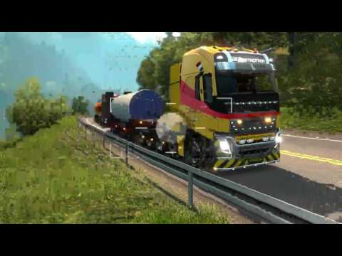 Testdrive ETS2 with MHAPro 1.25 map.