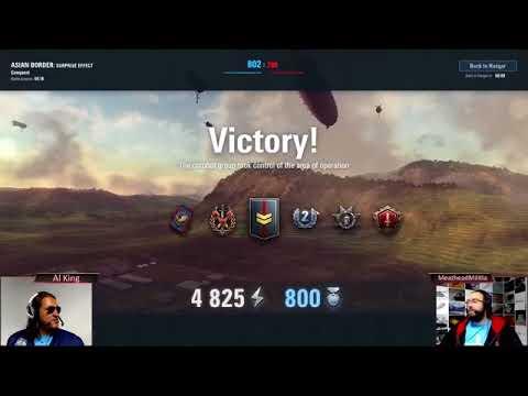 MeatheadMilitia & Al King Fly the Skies (Livestream Edition)