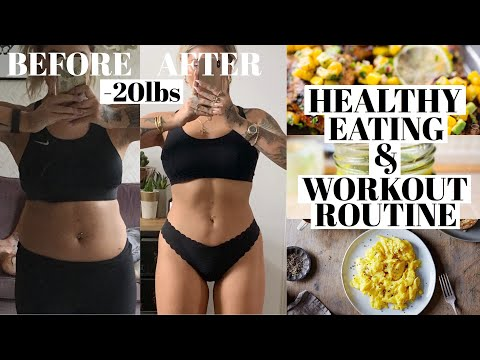 WHAT I EAT IN A DAY & WORK OUT ROUTINE | JAMIE GENEVIEVE thumbnail