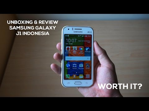 Samsung Galaxy J1 New Smartphone First Look Review ...