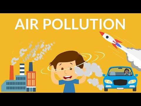Air Pollution | Video for Kids | Causes, Effects & Solution