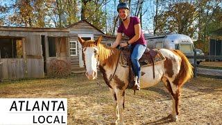 Atlanta Horse Riding Day Trip: Georgia Frontiers