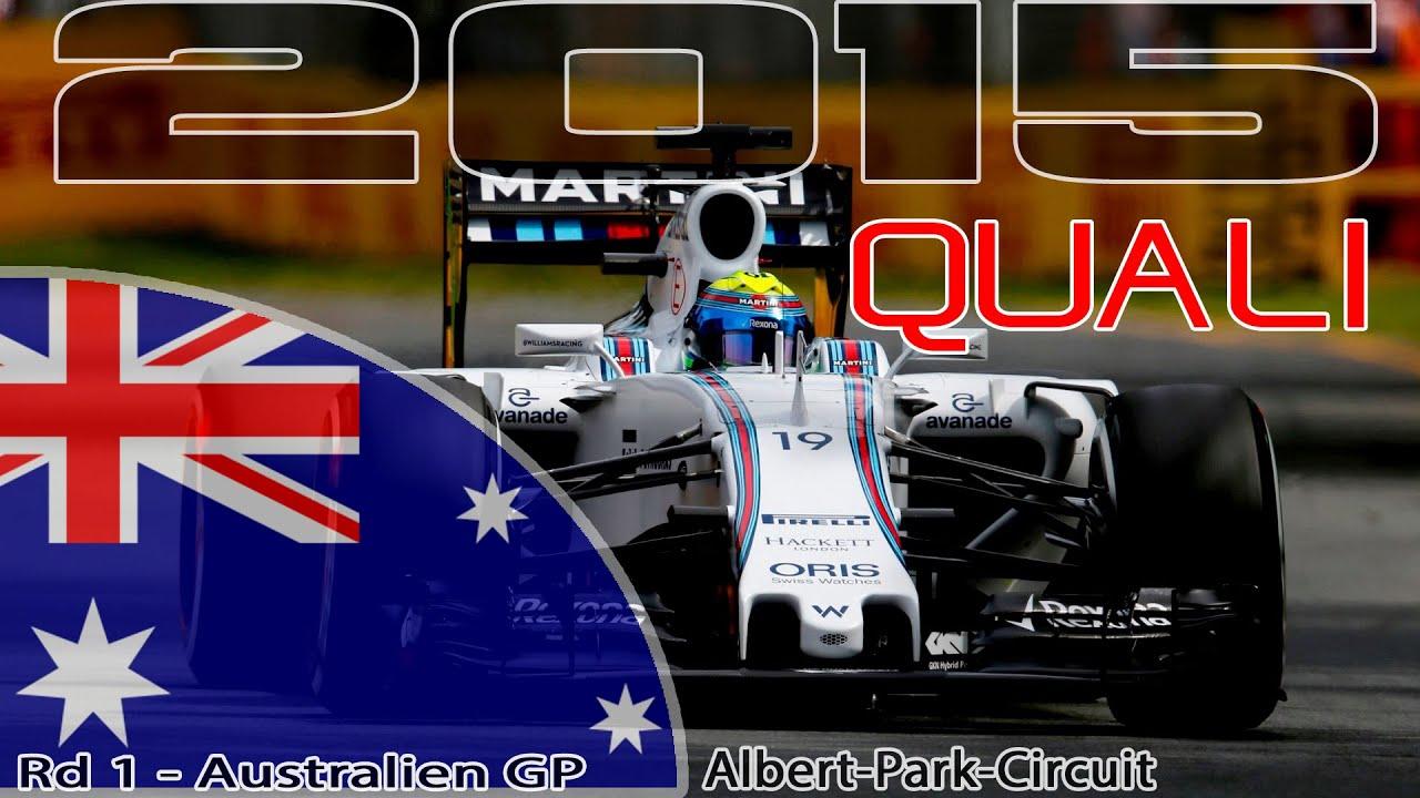 Ergebnis Quali Formel 1