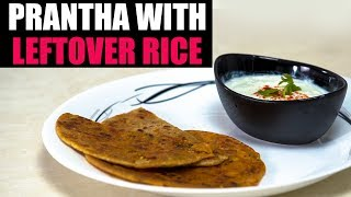 Instant Prantha With Leftover Rice | New Latest Food Videos | Foodies