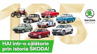 125 de ani de istorie ŠKODA în mai puținde 3 minute!