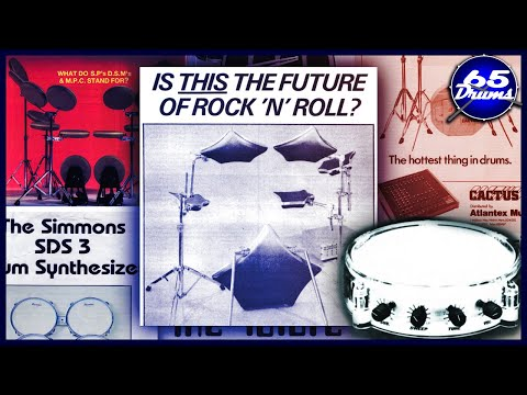 History Of Electronic Drums: Episode 1 (1960-1983)