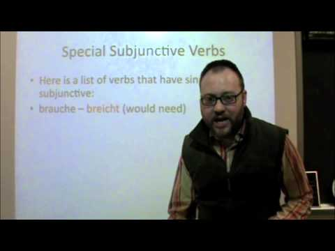 PA Dutch 101: Video 41 - Subjunctive Mood.m4v
