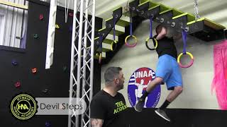 Devil Steps | Hybrid Ninja Academy | Buffalo Ninja Gym