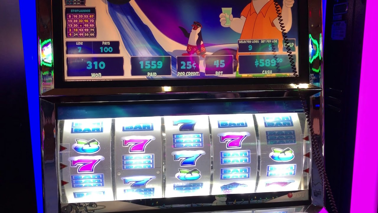 VGT Slots Polar High Roller 9 Line Free Spins Choctaw Gambling Casino Durant OK