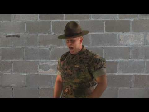 Marine Corps Drill Instructor SGT Kevin McDugle Funny Drill Instructor