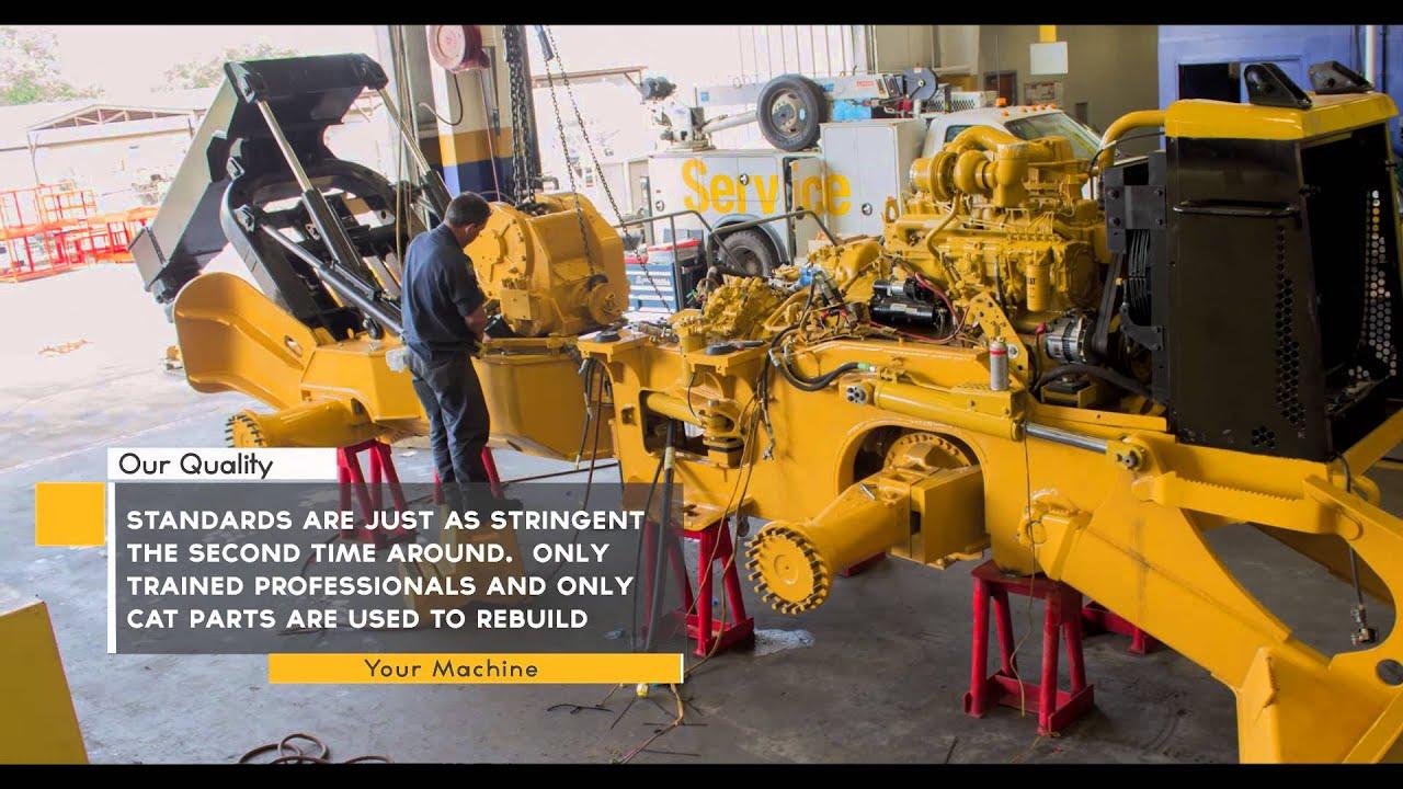 Certified Rebuilds - Heavy Equipment Service & Repair