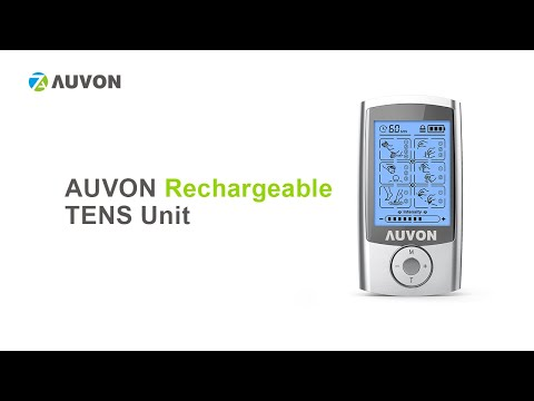"how-to-use-auvon-rechargeable-tens-unit-muscle-stimulator?-|-16-modes-|-2""x2""-electrode-pads-