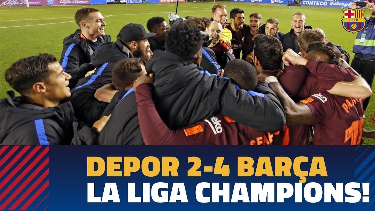 """""""Barselona"""" - Ispaniya chempioni."""