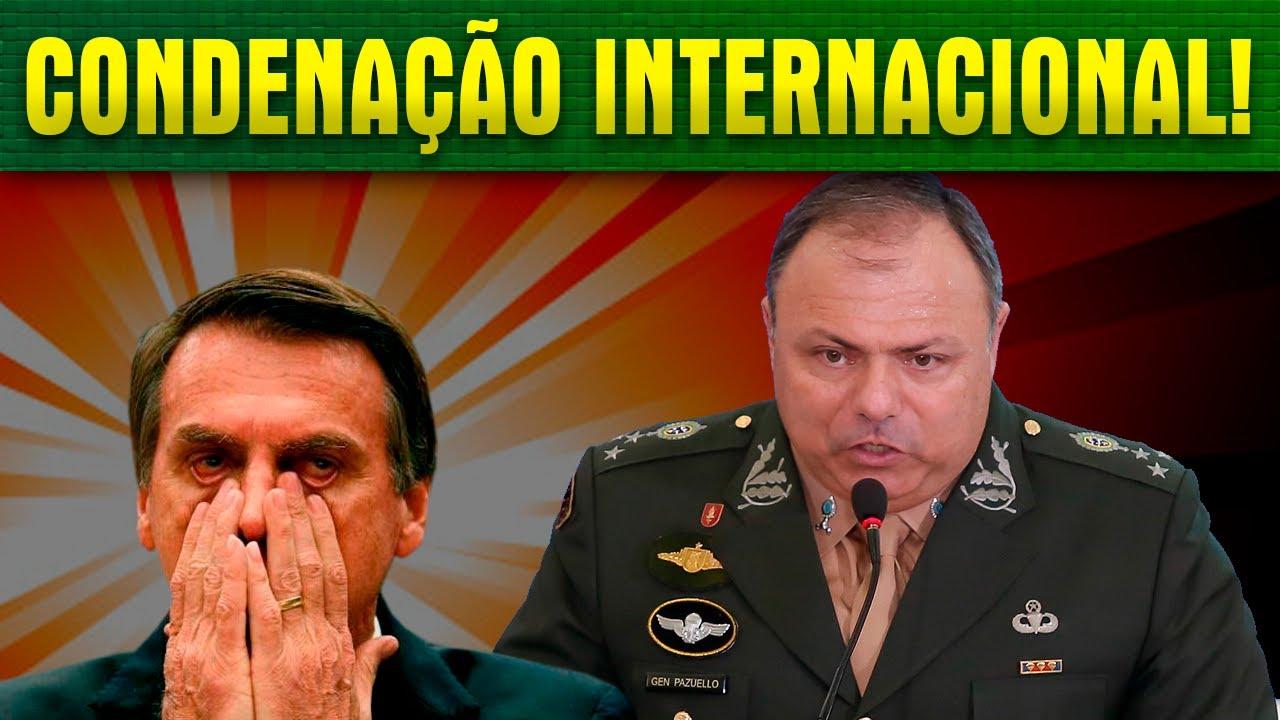 B0LSONARO E MILITARES APAVORADOS COM TRIBUNAL PENAL INTERNACIONAL!