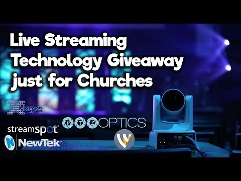 church-technology-live-streaming-giveaway!