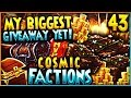 """""""MY BIGGEST GIVEAWAY YET!"""" - Minecraft COSMICPVP FACTIONS Let's Play Ep 42 (Pleb Planet)"""
