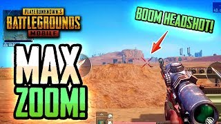 MAX ZOOM: Popping Tires & Popping Helmets! PUBG Mobile