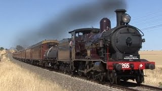 Junee Steam Train Shuttles with 3265 - Day 2: Australian Trains
