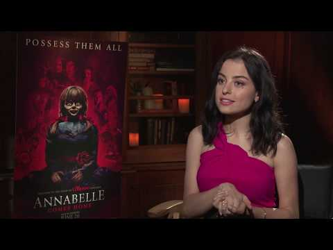From ANNABELLE COMES HOME, Katie Sarife Chatted About Working With James Wan & Gary Dauberman