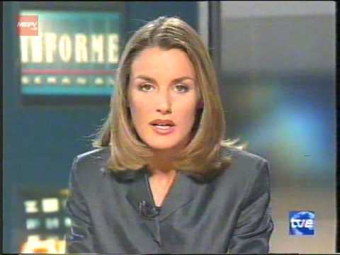RTVE - TVE Internacional - Informe semanal - Letizia Ortiz - Agost del 2000