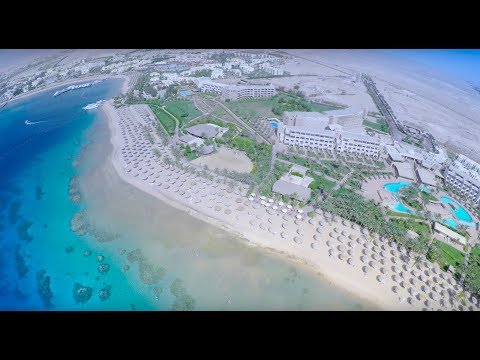 4K Official Drone-flight above RED SEA Egypt Hurghada Makadi Bay