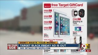 Black Friday ads: What's on sale at Target