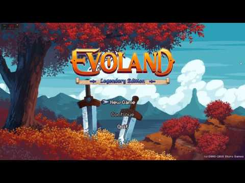 Evoland Legendary Edition PC - graphics style is changing as you travel |