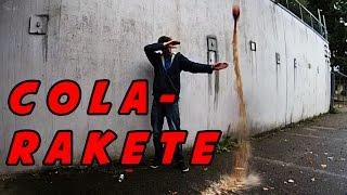 Extreme Cola-Rakete selber bauen! || In 2 MINUTEN!! || 1000 Abo Special