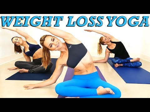 Yoga Weight Loss Challenge! 20 Minute Fat Burning Yoga Worko