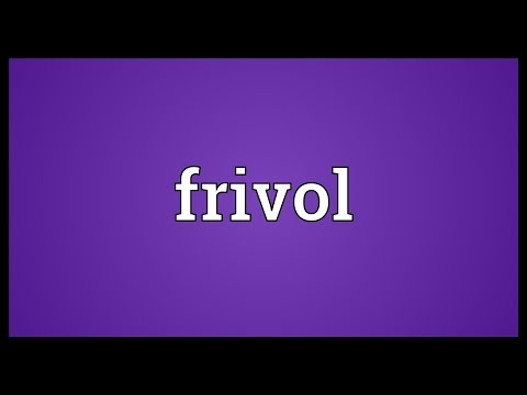 Header of frivol