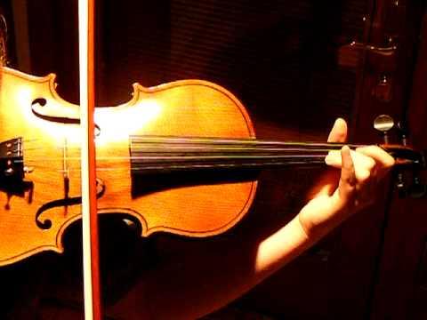 Albinoni Adagio in g minor, Gallipoli, excerpt, a fine French violin, Student violinist Eboyinc