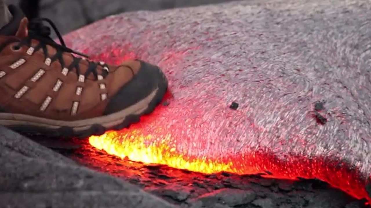 What Happens When You Step on Hot Lava? (VIDEO) - YouTube