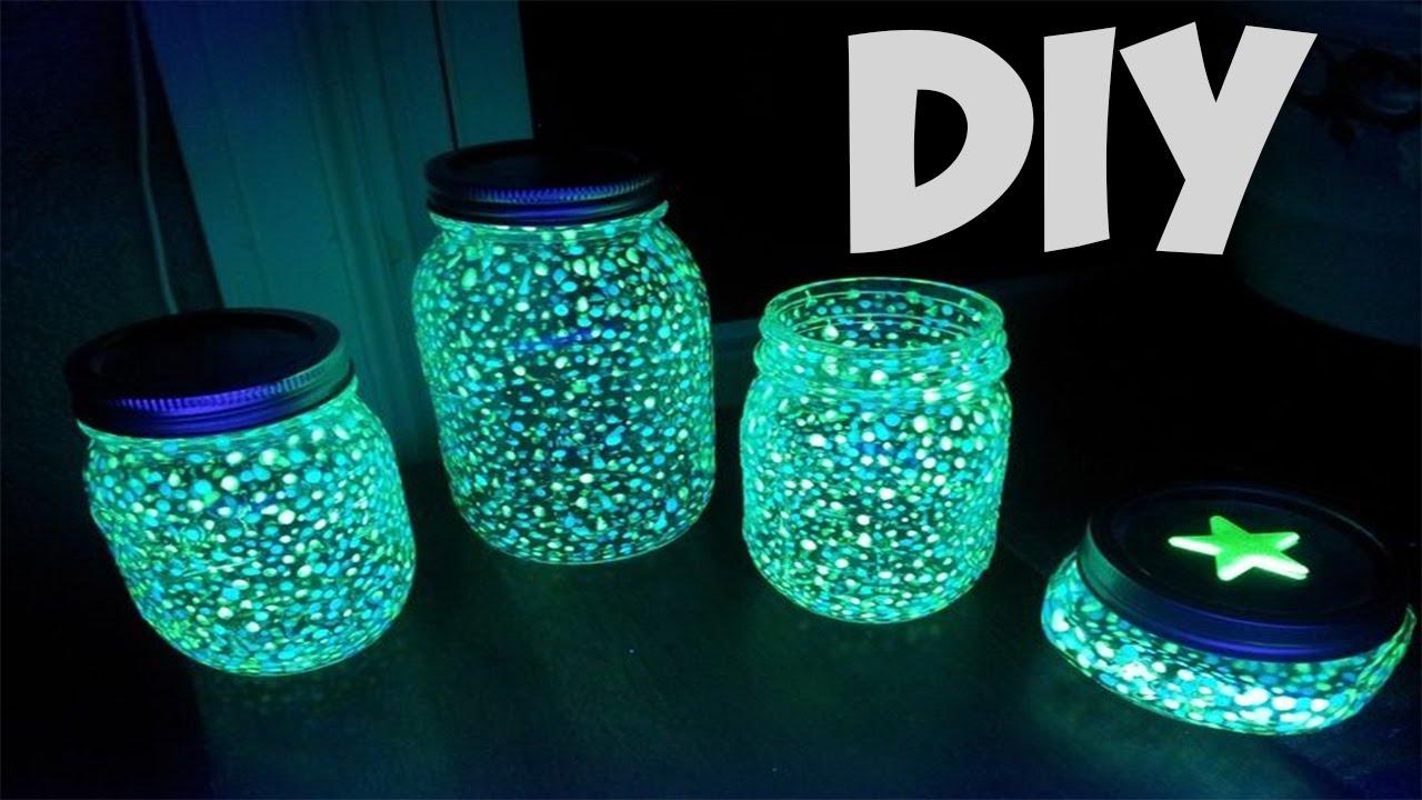 glow in the dark lighting. DIY GLOW IN THE DARK PARTY LIGHTS A JAR! (EASY) Glow In The Dark Lighting